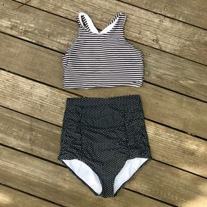 Other - Tankini High Waisted Bathing Suit